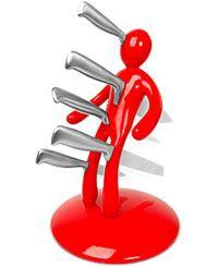 voodoo knife block £59.95