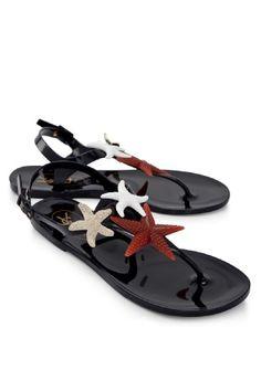 Yves Saint Laurent Oltremare Starfish Sandal