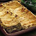 Artichoke and Mushroom Lasagna - Think I'll try it sans vermouth (I'll use chicken broth instead) and add some chicken...