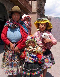 Cuzco, Peru. LOS ROSTROS DEL PERÚ.