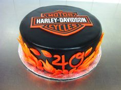 Grooms cake Harley Davidson by Whippt desserts Canapes, Food Service, Grooms, Macarons, Catering, Harley Davidson, Sculpting, Wedding Cakes, Appetizers