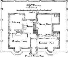 Gawthorpe Hall, ground floor