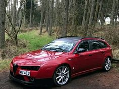 Classic Car News Pics And Videos From Around The World Alfa Romeo 159 Sportwagon, Alfa Romeo Brera, Alfa Alfa, Sports Wagon, Alfa Romeo Cars, Sweet Cars, Vintage Racing, Maserati, Ferrari