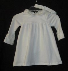 Bid starts at .99 cents  Maggie & Zoe 18 Month Dress NEW NWT Infant Girls Size 18 Months Dress Off White