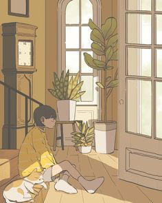 digital art graphic design aesthetic drawing photoshop modern anime style asian japanese chinese ethereal g e o r g i a n a : a r t Art And Illustration, Illustrations, Cartoon Kunst, Cartoon Art, Aesthetic Art, Aesthetic Anime, Aesthetic Drawing, Pretty Art, Cute Art