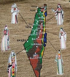 The different styles of Palestinian traditional dress, by region Palestine People, Palestine History, Israel Palestine, Palestinian Embroidery, Star Of Bethlehem, Arab Fashion, Arabic Art, Arabic Calligraphy, Country Women