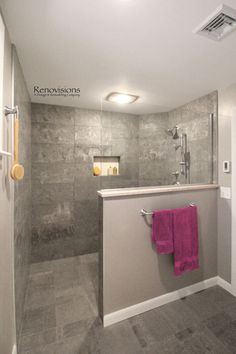 Fresh and cool master bathroom remodel ideas on a budget (39)