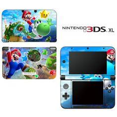 Super Mario Galaxy Yoshi Decorative Video Game Decal Cover Skin Protector for Nintendo 3DS XL , http://www.amazon.com/dp/B00GE92CWK/ref=cm_sw_r_pi_dp_CUznub19ZAFZ4