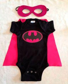 Batman festa menina