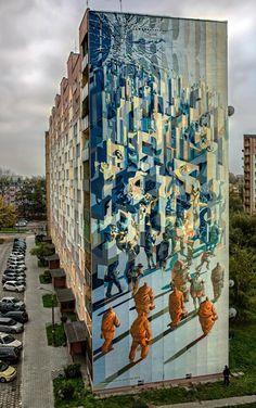 PROEMBRION http://www.widewalls.ch/artist/proembrion/ #digitalart #painting #streetart