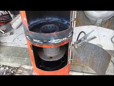 Make a great waste oil and wood burning stove heater (part 3) - YouTube