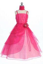 Idea for Kayla's Jr. bridesmaid dress