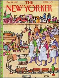 William Steig - New Yorker cover
