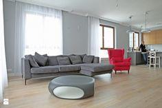 Salon styl Skandynawski #salon #pomysłynasalon #wystrójwnętrz #interiordesign see more: dom-wnetrze.com