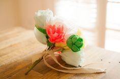 Paper Flower Bouquet Paper Succulent Summer by FioriBelle