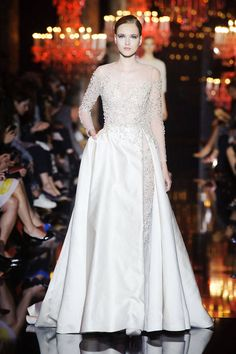 Fall 2014 Couture Trends - Best Bridal Ideas for Fall 2014 - Harper's BAZAAR