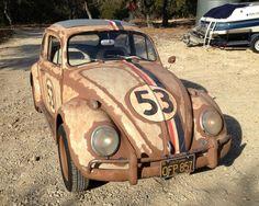 Herbie Sixteen: 1963 Volkswagen Beetle - This 1963 Volkswagen Beetle is said to be number 16 of 23 original Herbie cars used in Disney's movie series of the same name