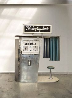 We restore, re-design and maintain the last vintage analog photobooth in France and Czech. Our photobooth are available in residence in art museums in Paris and Prague and for rent on events and shootings. Halle Saint Pierre, Prague, Restore, Museums, Photo Booth, Art Museum, Restoration, Objects, Events