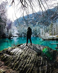 51 wonderful excursion tips in Switzerland - Blausee excursion tip Switzerland - Places In Switzerland, Gear Best, The Mountains Are Calling, Swiss Alps, Bryce Canyon, Secret Places, Wild Nature, Travel Goals, Wilderness