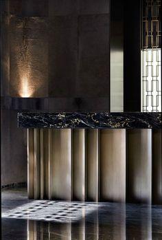 hazelton hotel, toronto ON #interiordesign #casegoodsideas moder home decor, interior design ideas, casegood inspirations. See more at http://www.brabbu.com/en/inspiration-and-ideas/category/trends/interior