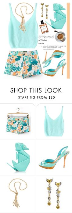 """Seahorse Purse"" by grozdana-v ❤ liked on Polyvore featuring Kate Spade, Christian Dior and Carolee"