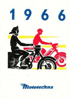 Mototechna, Czechoslovakia Retro Posters, Movie Posters, European Countries, Eastern Europe, Brochures, Czech Republic, Travel Posters, Motorbikes, Album Covers