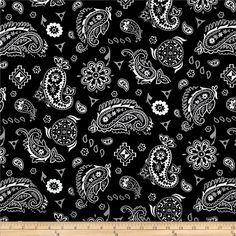 45'' Home Decor Yepes Paisley Yepes Tuxedo from @fabricdotcom  Screen printed on cotton duck; this versatile lightweight fabric is perfect for window accents (draperies, valances, curtains and swags), accent pillows, duvet covers and upholstery. Create handbags, tote bags, aprons and more. Colors include grey, ivory and black.