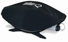 Cover to suit your Weber Q100 or Q120 BBQ. Cover will fit over the entire BBQ chassis and hood only. Fits snugly and is elasticated. Weatherproof to protect your bbq.    Pls Note: This is not a full length cover. It will not cover the trolley.