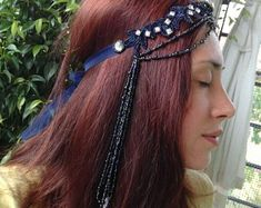 Unconventional headpieces di OnceACrown su Etsy Headpieces, Crowns, Hair Styles, Etsy, Beautiful, Beauty, Hair Plait Styles, Fascinators, Head Coverings