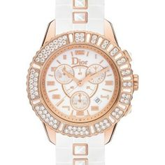 Montre Christian Dior Christal Ladies Rose Gold CD114370R001