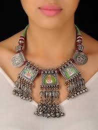 Image result for amrapali jewellery silver tribal
