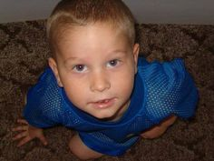 "Andrea Brown  Dx Date: March 17, 2004  Dx: Infiltrating Pontine Glioma (Inoperable Brain Stem Tumor)  He always has been and always will be ""OUR LITTLE HERO.""   #gogold #endchildhoodcancer"