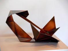 Jacek Wańkowski_Sting 2011_passivated copper-electroplated stainless steel_28 x 46 x 50cm