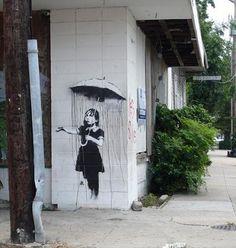 Banksy. love his work