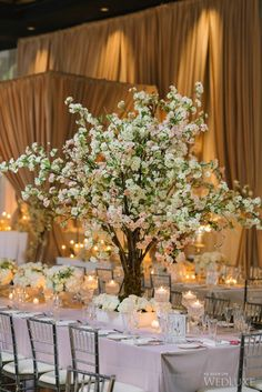 WedLuxe– A Cherry Blossom-Filled, Spring Wedding | Photography by: Mango Studios  Follow @WedLuxe for more wedding inspiration!