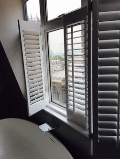 Room with a view #shutters