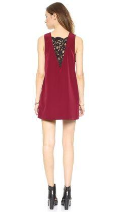 BB Dakota Gracyn Lace Inset Dress