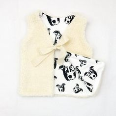 Pit Bull Print Baby Fur Vest For Girls, Organic Cotton Plush And Organic Cotton Lining Baby Gilet, 0 month to 3 years Toddler Vest, Toddler Leggings, Baby Leggings, Toddler Girl, Baby Fur Vest, Custom Baby Gifts, Dog Baby, Organic Baby Clothes, Baby Prints