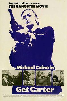 Get Carter - the ultimate British gangster film #British #gangster #movie