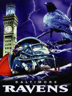 We are the Ravens! Baltimore Ravens Logo 929b055f9