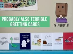 Printrovert | Cards & Art Prints project video thumbnail