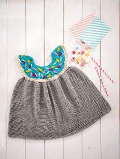 Frank&Olive doughnut crochet kids dress in Simply Crochet issue 58