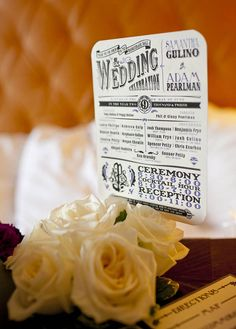 Great typography for a masquerade wedding