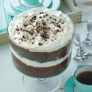 Cappuccino Trifle...I altered this a bit, substituting crumbled Oreos for the pound cake and halving the entire recipe. It made four generously portioned parfaits.