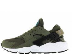 save off 825b6 2a210 Nike Air Huarache heren sneaker. Groen. Laag model. Groene Schoenen, Nike  Trainers
