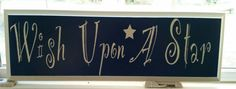 Check out this item in my Etsy shop https://www.etsy.com/listing/268080726/wish-upon-a-star-sign-home-decor