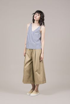 Ludrow Camisole Tank by Yune Ho #kickpleat #yuneho