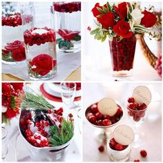 Cranberry Centerpiece Ideas (Apartment Therapy)