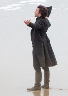 Filming Poldark S2: Aidan Turner