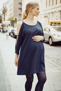 The Date Night Dress Photo: Via Hatch #refinery29 http://www.refinery29.com/fashionable-maternity-clothing-hatch#slide-11